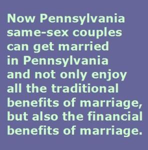 Pennsylvania Same-Sex Law